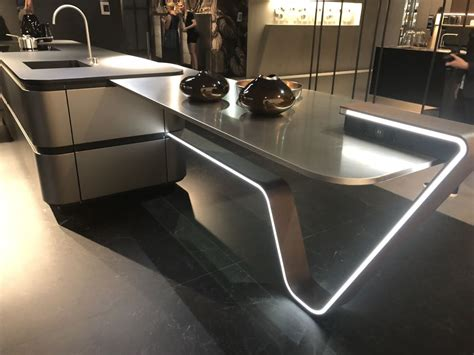 luxury kitchen islands 2018 eurocucina 2018 shows new trends for modern and luxury kitchens
