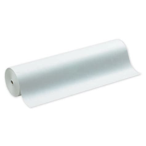 White Craft Paper Roll - bulletin board paper white kraft paper 36 quot wide roll