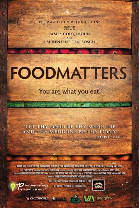 Food Matters The Dvd Integral Naturopathic Medicine