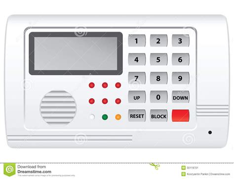 home security system stock image image 30119701