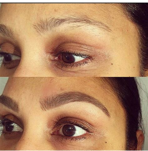 henna eyebrow tattoo henna brows before and after makedes