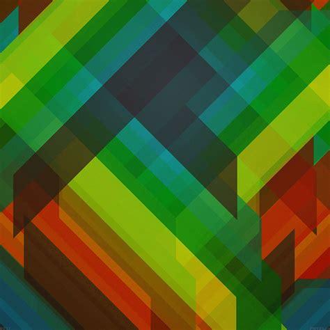 abstract green pattern ipad retina