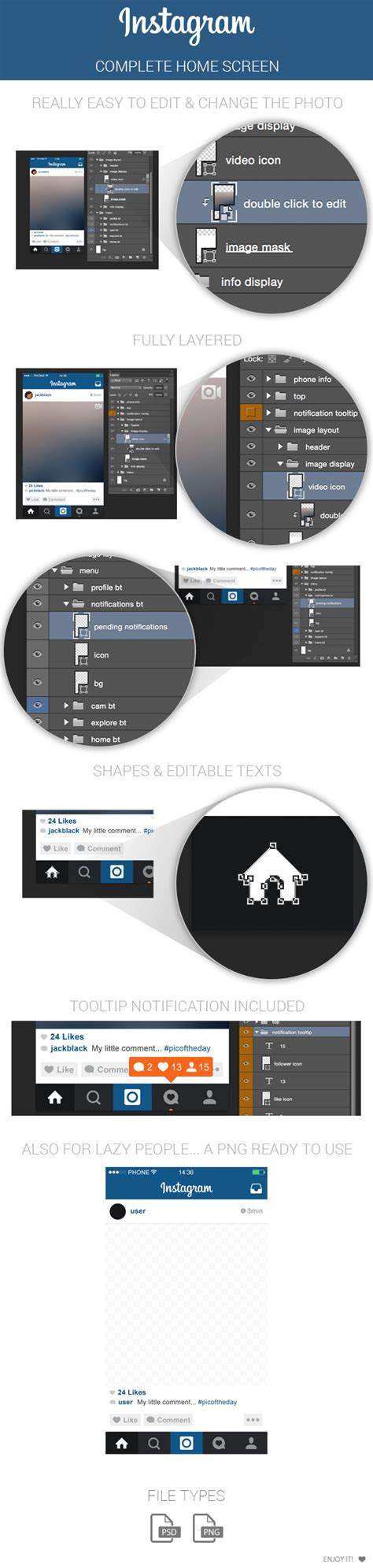instagram screen layout 14 ig icon psd images red circle logo starts with m