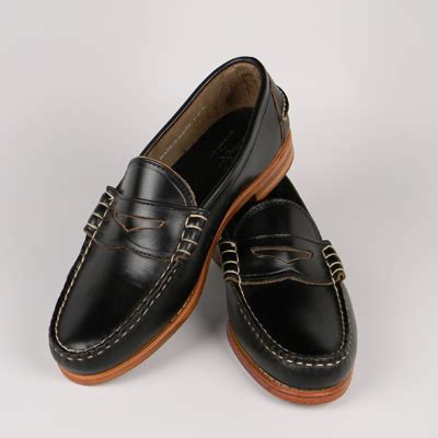 rancourt beefroll loafer rancourt co beefroll loafers black chromexcel
