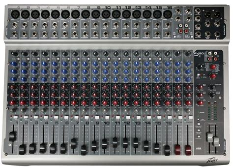 Mixer Peavey Pv 20 Usb 20 Channel Original peavey pv 20usb 20 channel console mixer with usb port discount center orlando