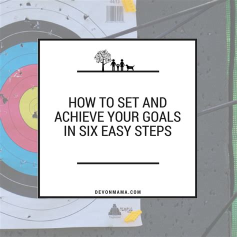 achieve anything how to set goals for children books how to set goals and achieve them in six easy steps