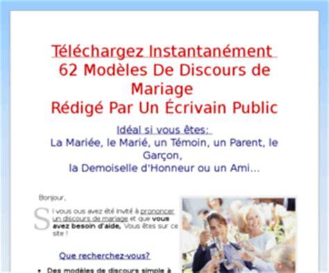 discourscom discours de marriage  textes pour