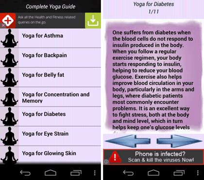 5 best free yoga apps for android
