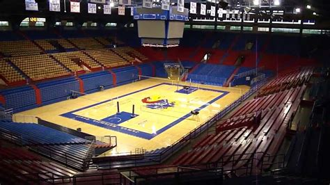 Kansas Basketball Arena - YouTube Jayhawks