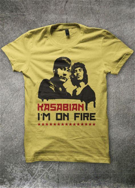 T Shirt Kasabian kasabian mens t shirt magik city cool t shirts reggae