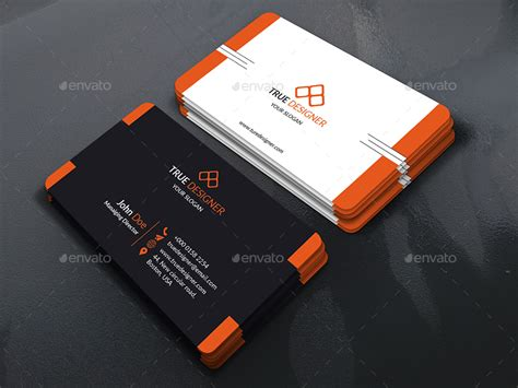 orange and black business card psd design techfameplus corporate business card 01 by rashedulhossain4 graphicriver