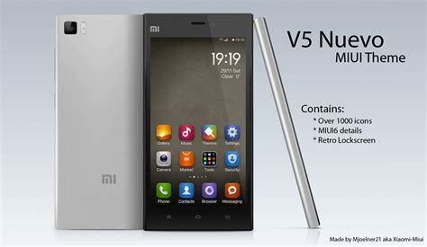 best themes of xiaomi v5 nuevo theme for miui by xiaomi miui on deviantart