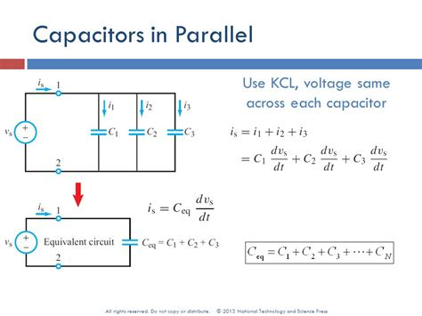 capacitor parallel voltage rating 5 rc and rl order circuits ppt