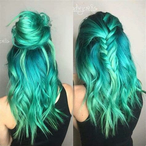 teal color hair 25 best ideas about teal hair color on
