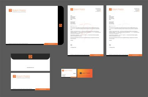 business card and stationery template 7 best images of business letterhead design business