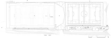 Saucier Post Office by Crystalline Soccer Stadium By Saucier Perrotte And Hcma