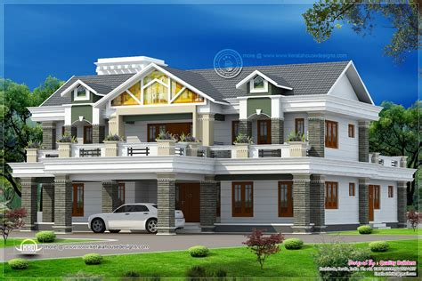 5935 sq luxury home design house design plans