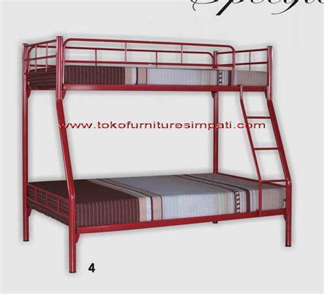 Succes Ranjang Susun Besi Chrysant ranjang susun bunk bed ranjang tingkat toko