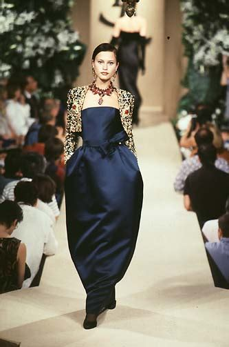 Haute Historian From To Laurent The New Look And The New New Look Second City Style Fashion by Yves Laurent Haute Couture F W 1997 Yves