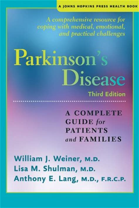 a s guide to living with disease books parkinsons disease a complete guide for patients and