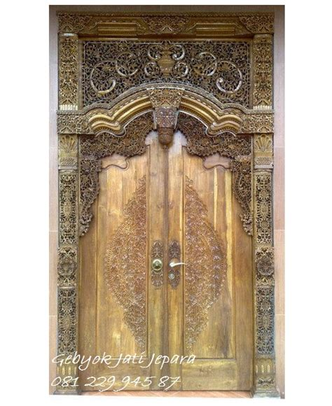 Gebyok Pintu Gebyok Ukir Jawa Pintu Rumah Kusen kusen pintu gebyok 2 pintu gebyokjatijepara