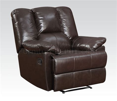 Top Grain Leather Sectional Recliner by 51280 Obert Reclining Sofa Top Grain Leather By Acme W Options