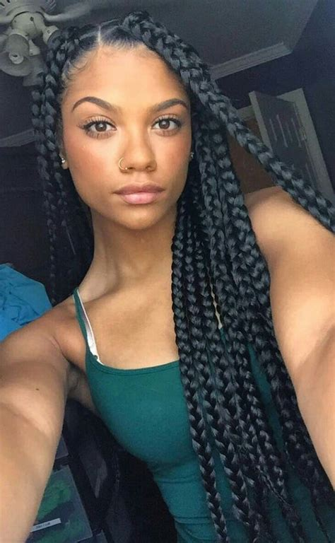 box braids styles and lengths 42 chunky cool jumbo box braids styles in every length