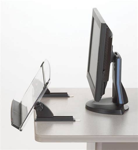 Amazon Com 3m Compact In Line Paper Document Copy Holder Paper Stand For Desk