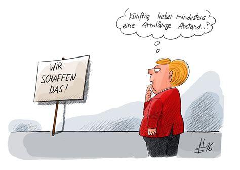 Anti Cdu Aufkleber by Armlaenge Merkel Koeln Silvester Karikatur Heiko