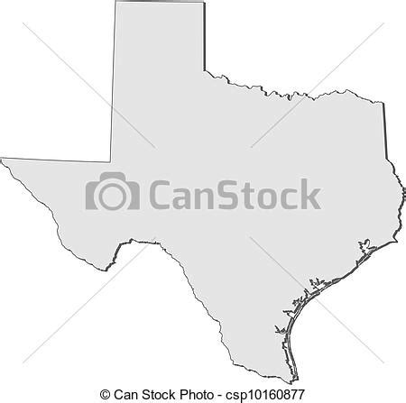 texas map drawing map of texas united states royalty free eps clip csp10160877