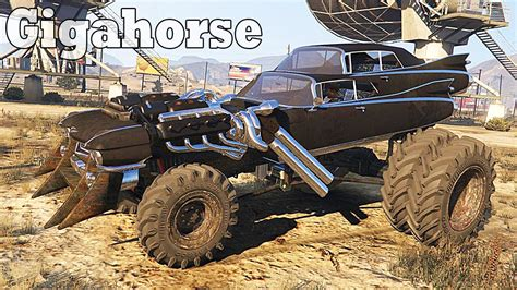 mod gta 5 mad max grand theft auto v gameplay with gigahorse mad max gta