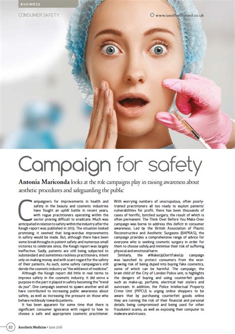 aesthetic clinic marketing in the digital age books safety in article in aesthetic medicine magazine