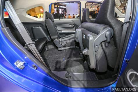 Lu Belakang Mobil Xenia Interior Daihatsu Sigra 7 Seat Penumpang Yang Lumayan Lega