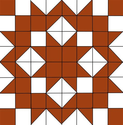 free printable carpenter s star quilt pattern lets quilt something kona project kona spice layer