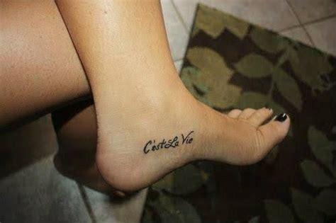 c est la vie wrist tattoo c est la vie ideas