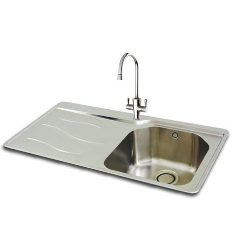 carron 90 stainless steel inset kitchen sink