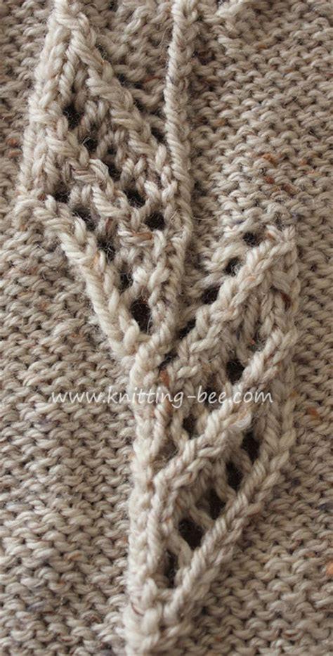 free knitting pattern motifs tulip motif knitting knitting bee