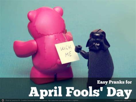 easy pranks for april fools day