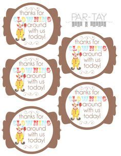 printable animal gift tags 1000 ideas about party favor tags on pinterest party