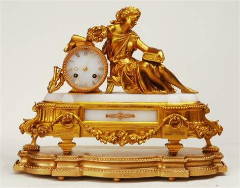 kaminuhr antik antike sch 214 ne franz 214 sische pendule vergoldete zink