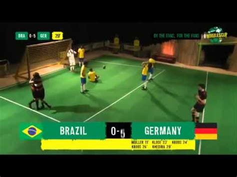 brazil vs germany 1 7 highlights world cup