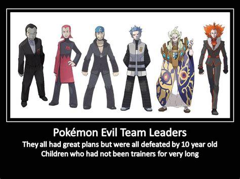 Meme Team - the evil teams in pokemon quiz by johnlacklandsdo