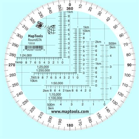 protractor printable version maptools product round military coordinate scale and