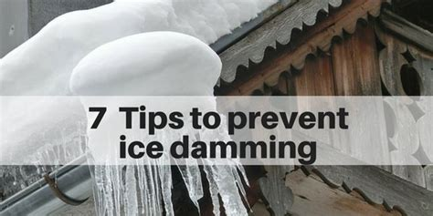 5 Tips To Prevent Roof 7 Tips To Prevent Damming On Your Roof Island Home Buyer Llc