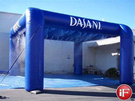inflatable misting tent custom event tents tent misters
