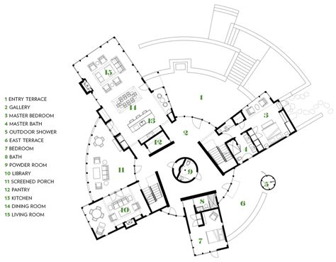 circular home floor plans circular house marthas vineyard floor plan round living