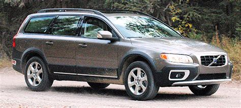 2008 volvo xc70 road test review carparts com 2008 volvo xc70 test drive off road luxury gets real