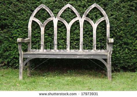 gothic garden bench wooden gothic style bench dream garden pinterest