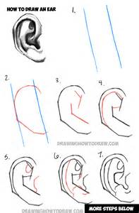 How To Draw Ear Learn How To Draw Ears And How To Shade Them Drawing And