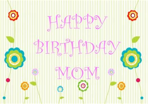 printable birthday cards for mom mom birthday cards printable 171 home life weekly